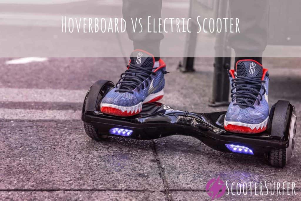Hoverboard vs Electric Scooter  Which Is Better?